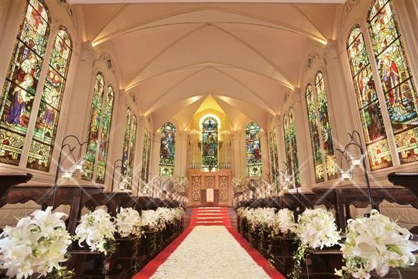 モンサンミッシェル大聖堂 ザ・ガーデンコートなんばパークスがぴったりのおふたりは?口コミ・費用・ブライダルフェア情報!