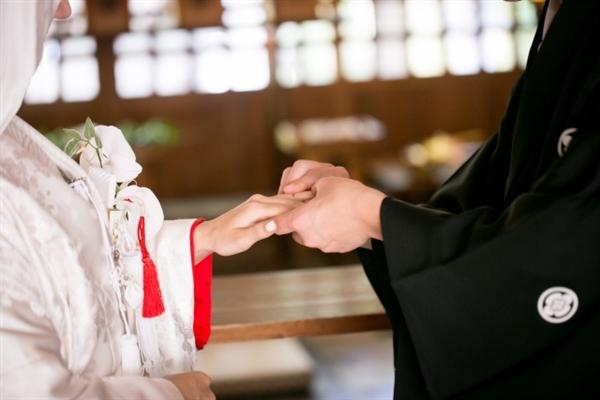 結婚式場 京都府 神前式